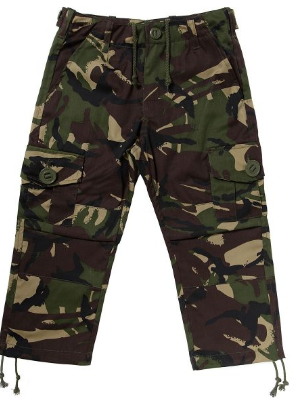 Children's Army Camouflage Trousers