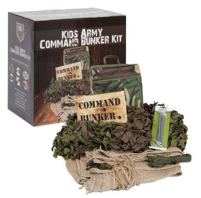 Kids Army Command Bunker Kit
