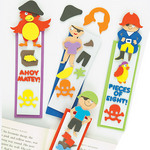 Pirate Foam Bookmark Kits