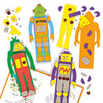 Robot Foam Bookmark Kits